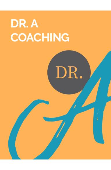 Dr. A Coaching